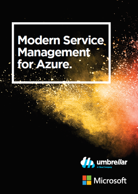 Modern Service Management Whitepaper cover
